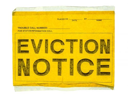 COVID-19 – Evictions